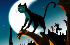 Большой фестиваль мультфильмов показал  «Жизнь кота» в Париже (Cat in Paris)