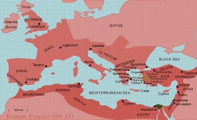 an analysis of the roman empire under the rule of the caesars