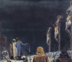 28 ноября. Василий Верещагин «Распятие на кресте у римлян»