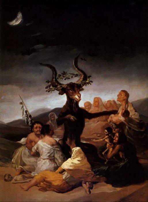 Гойя. Дьявол на поводке. | Фамильные ценности