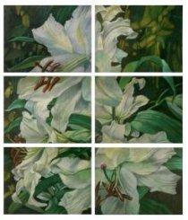 Картина «Жизнь сада. Белая лилия»