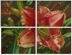 Картина «Сады Востока. Полосатый халат»