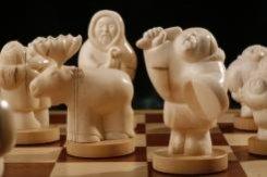 Шахматы «Сияние Севера»