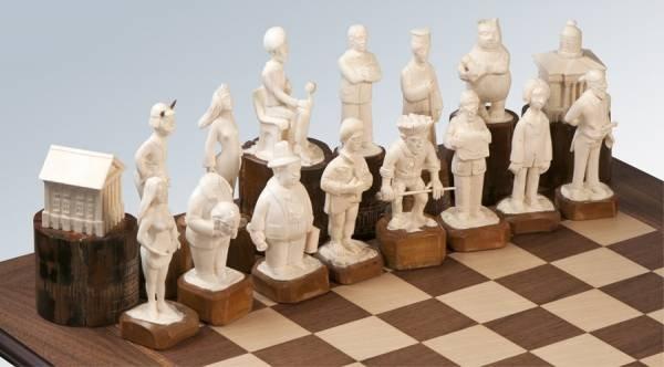 Шахматы Мастер и Маргарита Фамильные ценности
