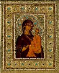 Тихвинская икона Божией матери (2)
