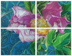 Картина «Сады Востока. Голубое блюдо»