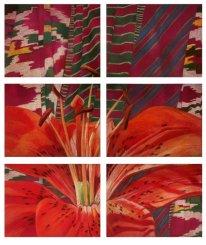 Картина «Сады Востока. Алая лилия»