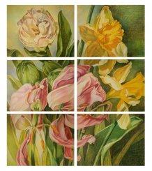 Картина «Жизнь сада. Тюльпан»