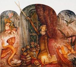 Серия картин «Дон Кихот» (002)