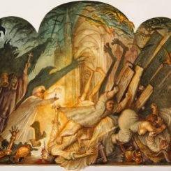 Серия картин «Дон Кихот» (001)