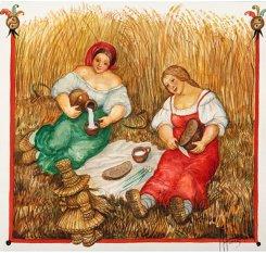 Картина серии Русская песня «Житный дед», 2005