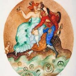 Картина серии Гусарский анекдот «Время золотое», 2003