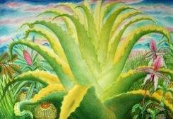 Картина серии Воспоминание о Мексике «Весна», 2008