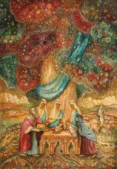 Картина «Встреча Авраама с Господом»