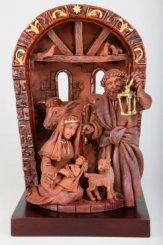 Глиняная композиция «Рождество»