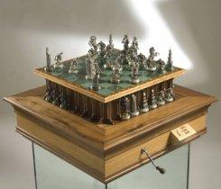 Шахматы с двумя телескопическими механизмами