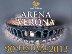 22 июня — 2 сентября. Оперный фестиваль Arena di Verona