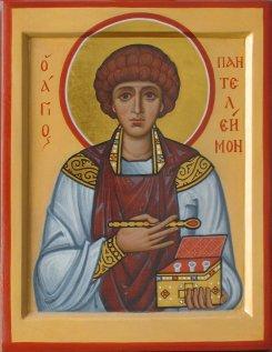 Икона Святой Пантелеймон Целитель