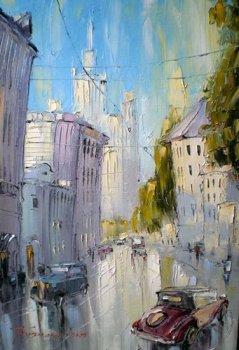 27 июля — 2 сентября. «Любимый город» Виктора Кузнецова