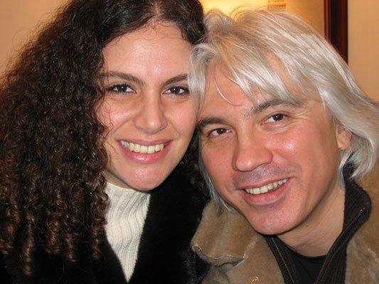 Дмитрий Хворостовский с женой Флоранс Илли.