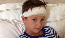Сын Алики Смеховой попал в больницу