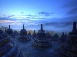 Боробудур — чудо Индонезии