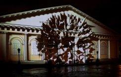 С 3 по 7 января. 3D-шоу «Сны Москвы» на фасаде «Манежа»