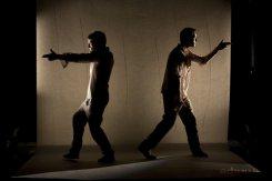 Два американца играют в русском театре на русском языке