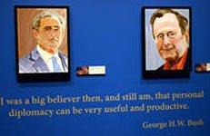 В Далласе открывается выставка картин Джорджа Буша-младшего