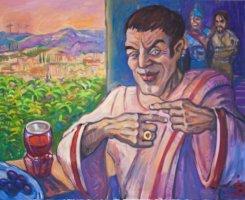 До 20 апреля. «Приключения Бога» художника Иннокентия Баранова