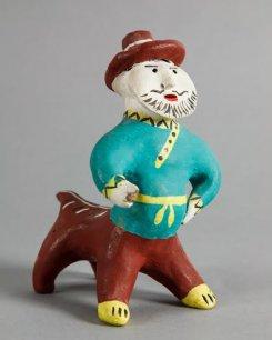 24 июня — 14 сентября. Каргопольская глиняная игрушка
