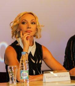 Кристина Орбакайте рассказала журналистам о своем новом фильме.