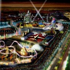 В Нагатинской пойме построят парк развлечений