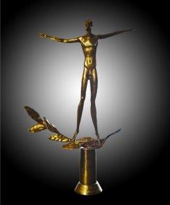 Премия ЛАВР-2014 тройки победителей.