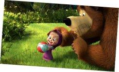 Маша и Медведь попали в классику