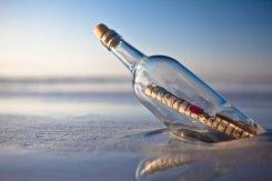 В Германии нашли самое старое послание в бутылке