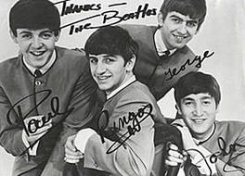 Продан первый контракт Beatles