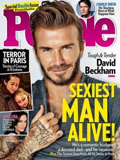 Дэвид Бекхэм стал самым сексуальным мужчиной планеты