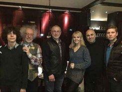 Комментарии встречи Ходорковского с Валерией и Пригожиным