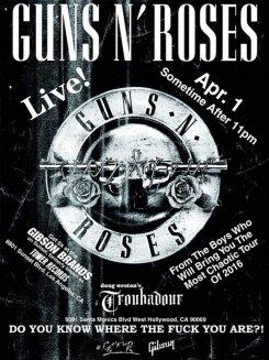 Легендарная рок-группа Guns N' Roses объявила о своем воссоединении в классическом составе