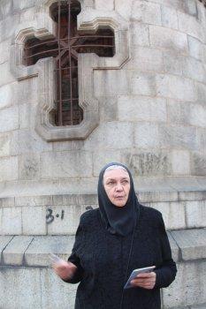 Шэньян. Делегация «Амурской осени» посетила русскую часовню